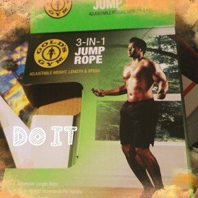 Iconhealthfitnessinc Gold's Gym 3-in-1 Jump Rope uploaded by Marionette D.