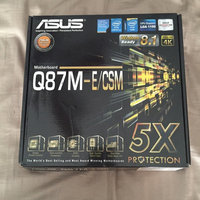 asus RG1551M ASUS Q87M-E/CSM DDR3 1600 LGA 1150 Motherboard uploaded by Paizly G.