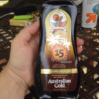 Australian Gold Spray Gel with Instant Bronzer SPF 15 uploaded by Lottie H.