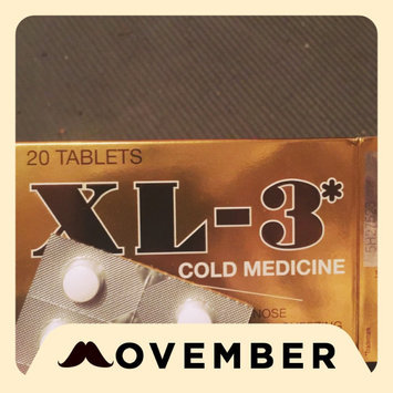 Photo of Xl-3 Cold Medicine 20 Tablets uploaded by Violeta Q.