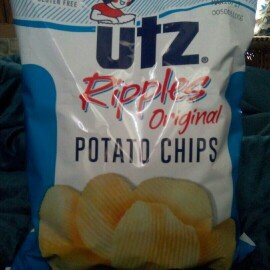 Photo of Utz Ripples Crisp All Natural Ripple Cut Potato Chips uploaded by Tori T.
