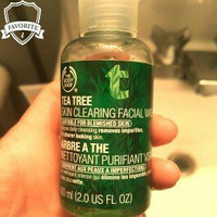 The Body Shop Travel Size Tea Tree Skin Clearing Facial Wash uploaded by Christina g.