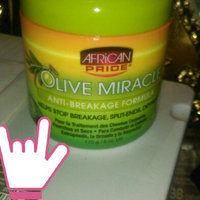 African Pride Olive Miracle Anti-Breakage Formula Hair Treatment uploaded by Lorissah. J.