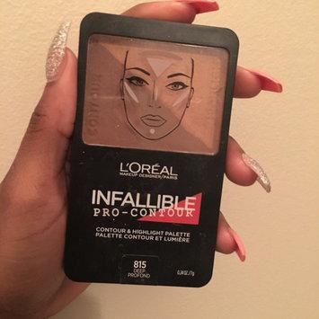 Photo of L'Oréal Paris Infallible Pro Contour Palette Deep/Profond 0.24 oz. Compact uploaded by Alleina C.