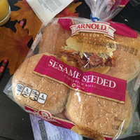 Arnold Select Sandwich Rolls with Sesame Seeds, 8 count, 14 oz uploaded by Kayla B.