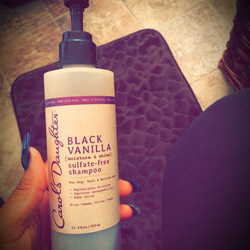 Photo of Carol's Daughter Black Vanilla Moisture & Shine Sulfate-free Shampoo For Dry Dull Or Brittle Hair uploaded by Roolette A.