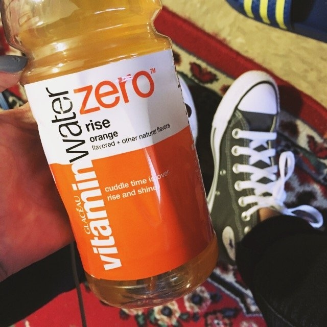 vitaminwater Zero Rise Orange uploaded by Nicole H.
