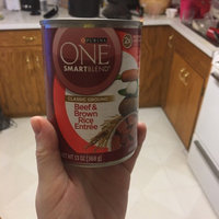 Purina One SmartBlend Adult Dog Food Classic Ground Beef & Brown Rice Entree uploaded by Claire M.