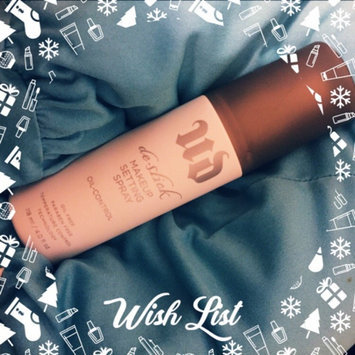 Urban Decay De-Slick Oil Control Makeup Setting Spray uploaded by Isabel T.