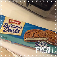 Mrs. Freshley's® Delicious Deals™ Oatmeal Cremes Cookies 8-1 oz. Wrappers uploaded by Christy  W.