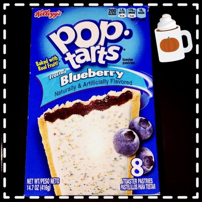 Kellogg's Pop-Tarts Frosted Blueberry Flavor uploaded by Christina C.