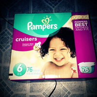 Pampers Cruisers Diapers Giant Pack - Size 6 (76 Count) uploaded by Jessenia R.