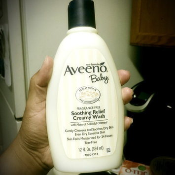 Photo of AVEENO® Baby Soothing Relief Creamy Wash uploaded by Adilene R.
