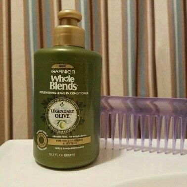 Garnier Whole Blends Legendary Olive Replenishing Leave-In Conditioner 10.2 fl. oz. Bottle uploaded by Jennifer S.