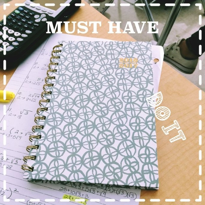Blue Sky(TM) Fashion Wire-O Weekly/Monthly Planner, 8 1/2in. x 11in, Mahalo, July 2016 to June 2017 uploaded by Amy R.