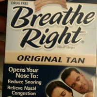 Breathe Right Drug Free Clear Sm/Med Nasal Strips - 30 CT uploaded by Dawn P.