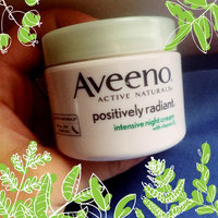 AVEENO® POSITIVELY RADIANT® Intensive Night Cream uploaded by Madee B.