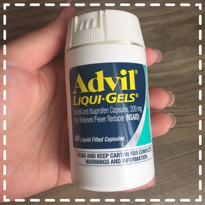 Advil Ibuprofen Tablets 200 mg Gel Caplets - 100 CT uploaded by Hiroko N.