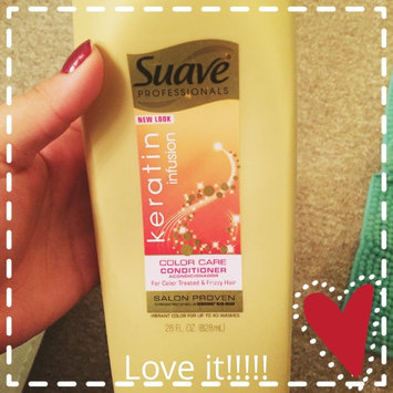 Suave Professionals Keratin Infusion Color Care Conditioner uploaded by Abii C.