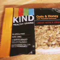 KIND Healthy Grains Bar Oats & Honey uploaded by Angie K.