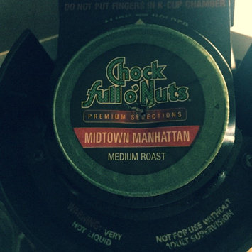 Photo of Chock Full o'Nuts Medium Roast Coffee Midtown Manhattan Single Serve Cups uploaded by Matthew G.