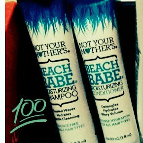 Not Your Mother's® Beach Babe Moisturizing Shampoo & Conditioner uploaded by marlene c.