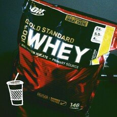 Photo of Optimum Nutrition Gold Standard Natural 100% Whey Protein uploaded by Vanessa T.