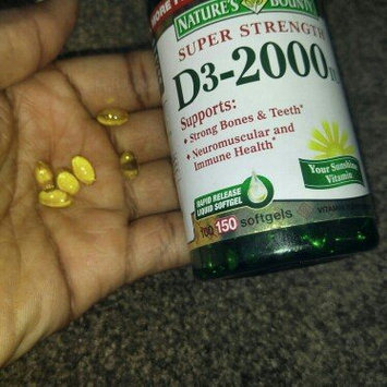 Nature's Bounty Vitamin D3-2000 IU uploaded by ALESHA Z.