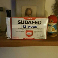 Sudafed 12 Hour Sinus Pressure + Congestion Nasal Decongestant Coated Caplets 120 mg uploaded by Shana C.