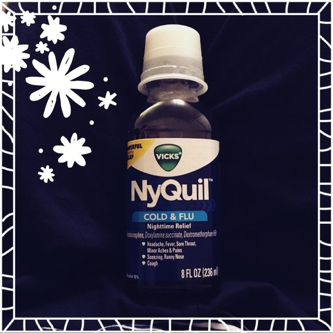 Vick's NyQuil Cold & Flu Relief Liquid  uploaded by Ashley A.