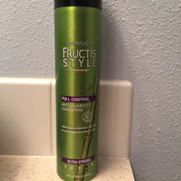Garnier Fructis Style Anti-Humidity Hairspray Full Control - 8.25 oz uploaded by Bailey D.
