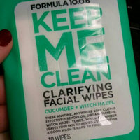 Formula 10.0.6 Keep Me Clean Clarifying Facial Wipes uploaded by Rachel D.