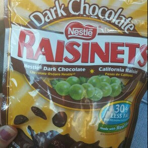 Photo of Nestlé Dark Chocolate Raisinets California Raisins uploaded by Casey B.