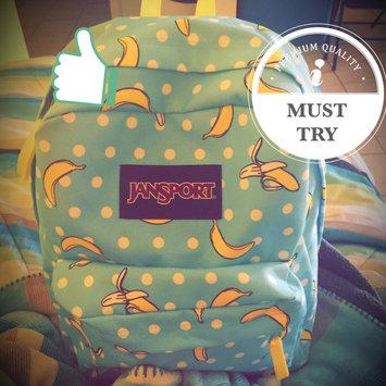 Photo of JanSport SuperBreak Backpack Blue Topaz Oh Bananas - JanSport School & Day Hiking Backpacks uploaded by Mary M.