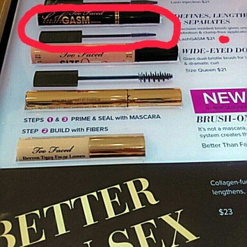 Too Faced Lashgasm Mascara uploaded by Nikkita M.
