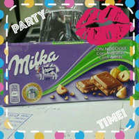 Milka Milk Chocolate with Chopped Hazelnuts Confection uploaded by Milagros Q.