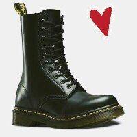 Dr. Martens Men's 1460 Classic Boot [Cherry Red Rouge Leather, 14 F(M) UK / 16 B(M) US Women / 15 D(M) US Men] uploaded by Randi P.