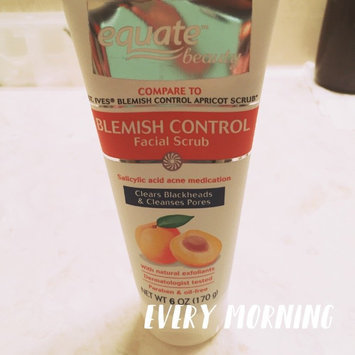 Equate Beauty Blemish Control Apricot Scrub, 6 oz uploaded by Jasmine O.