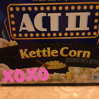 Act II® Kettle Corn Microwave Popcorn uploaded by Nelly l.