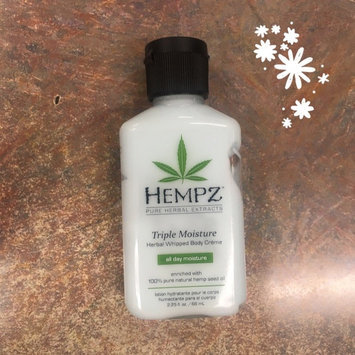 Photo of Hempz Triple Moisture Herbal Whipped Body Crème uploaded by Irene C.