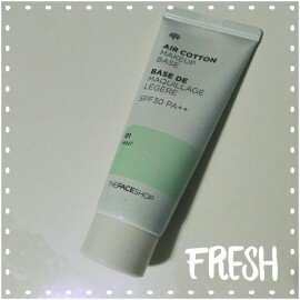 Photo of The Face Shop Air Cotton Make Up Base SPF30 PA++ uploaded by M B.