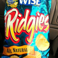 Wise® Ridgies® All Natural Ridged Potato Chips 4.75 oz. Bag uploaded by ismaray g.
