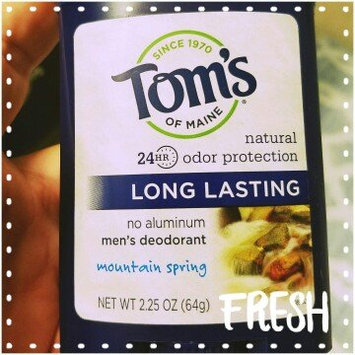 Photo of Tom's OF MAINE Mountain Spring Men's Long Lasting Wide Stick Deodorant uploaded by Nicole B.