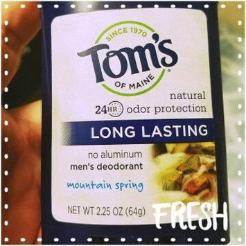 Photo of Tom's of Maine Men's Long Lasting Stick Deodorant uploaded by Nicole B.