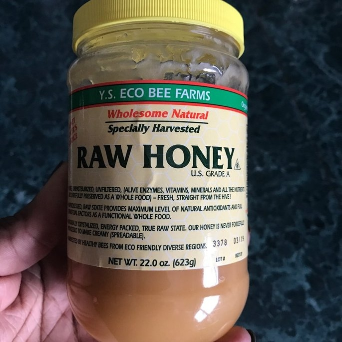 Ys Royal Jelly/honey Bee YS Organic Bee Farms - Raw Honey - 22 oz. uploaded by Mattisa M.