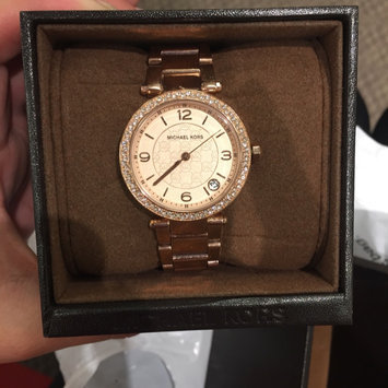Michael Kors Rose Golden Stainless Steel and Tortoise Acetate Watch uploaded by Nayeli V.