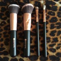 BESTOPE 10PCs Premium Synthetic Kabuki Makeup Brushes Set Cosmetics Foundation Blending Blush Eyeliner Face Powder Brush Makeup Brushes Kit [10PCS Black+G uploaded by Emma M.
