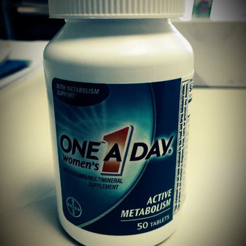 Photo of One A Day Women's Active Metabolism Tablets uploaded by L F.