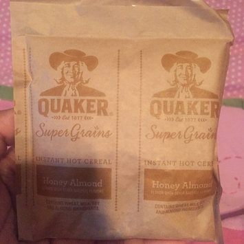 Quaker® Select Starts Super Grains Honey Almond Instant Hot Cereal 6-1.97 oz. Pouches uploaded by Brianna V.