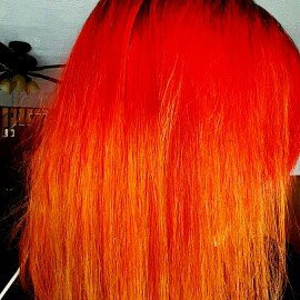 Photo of (6 Pack) MANIC PANIC Cream Formula Semi-Permanent Hair Color - Infra Red uploaded by Joy S.